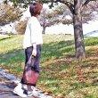 画像1: 【Bienco ビアンコ】ポニーメッシュ ショルダーバッグ (1)